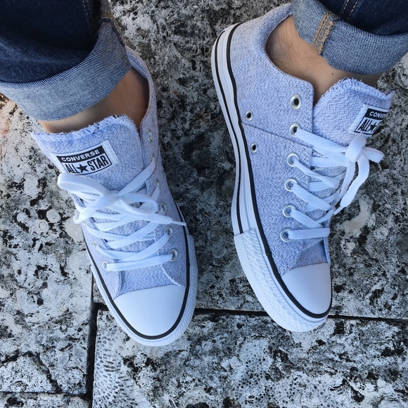 Converse Chuck Taylor All Star Madison Mid Sneakers in White